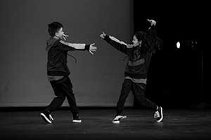 Hip-Hop Dancers at Dance House Productions, Biddeford, Maine
